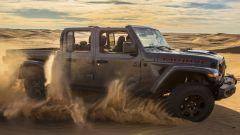 Molte delle soluzioni del pick up Gladiator Mojave verranno riprese sulla Jeep Wrangler Mojave