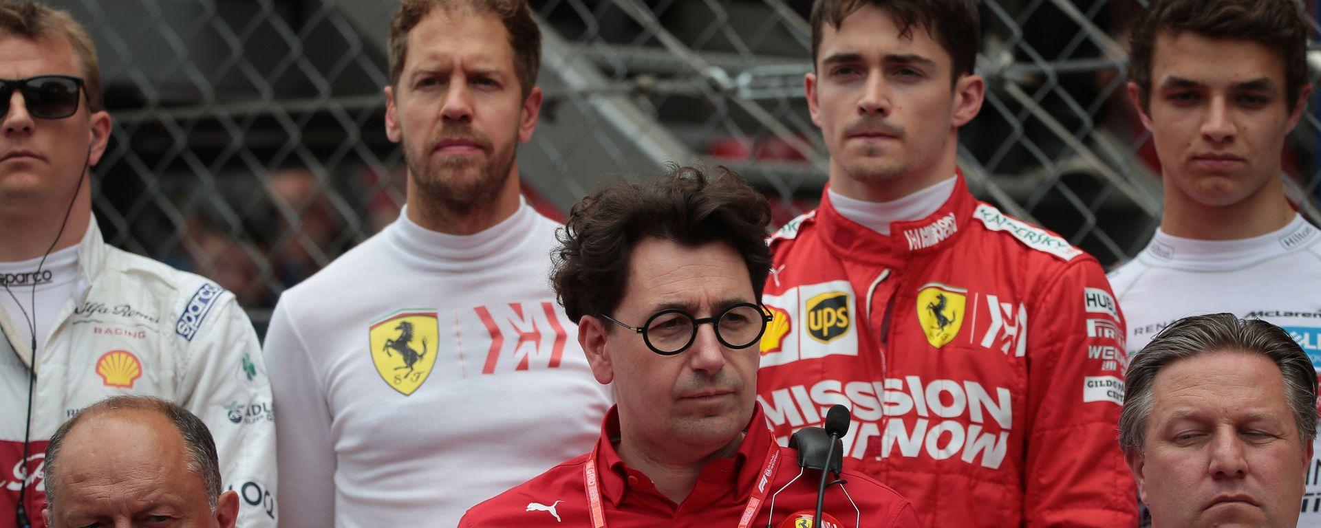 "Monaco, Binotto: ""Bene Vettel, Leclerc giusta attitudine"""