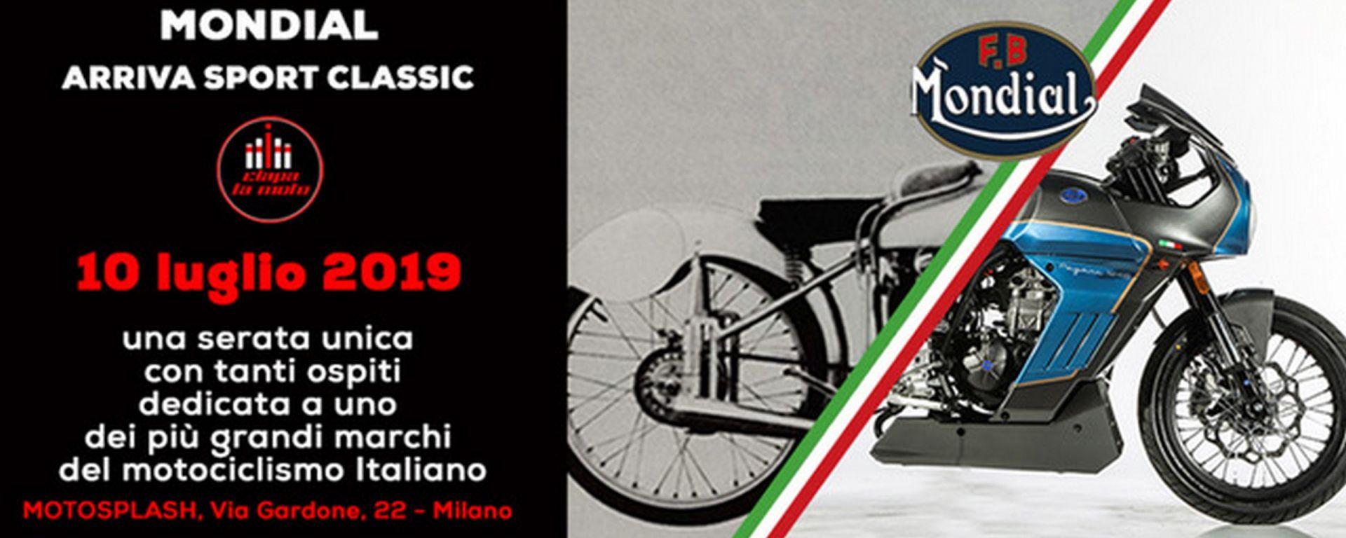 Mondial Sport Classic: in scena sul palco di Ciapa la moto