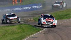 Mondiale Rallycross 2017 - Loeb e la sua Peugeot 208 WRX