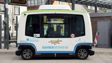Monheim, il robo-bus è già in funzione dal 2020
