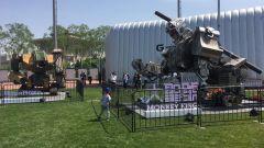 Robot giganti: Greatmetal Monkey King sfida Megabots Mk III - Immagine: 1