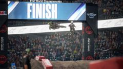 Monster Energy Supercross - The Official Videogame 3: l'arrivo di una gara 450X