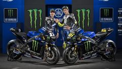 Monster Energy Yamaha Factory Racing - Valentino Rossi e Maverick Vinales