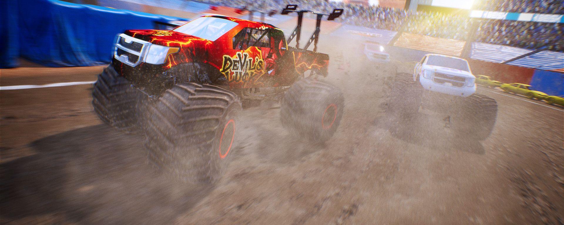 Monster Truck Championship: una scena di gioco