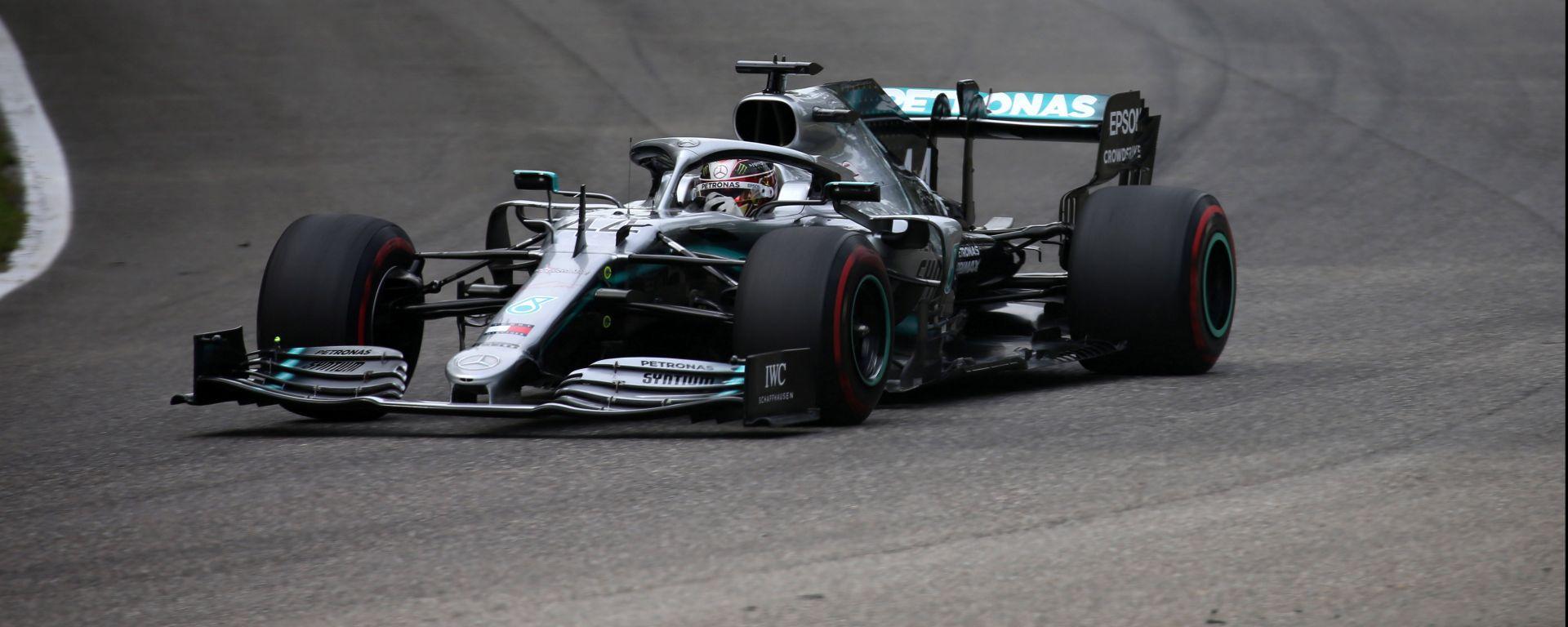 """Monza, Hamilton 2°: """"Domani possiamo lottare con la Ferrari"""""""