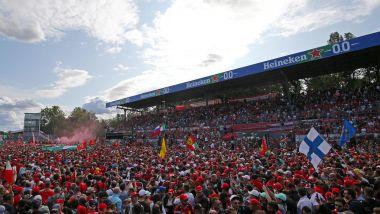 Monza: l'invasione di pista al termine del GP Italia 2019