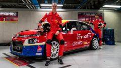 Monza Rally Show 2019, l'equipaggio di Raffaele Marciello e Alessandro Nolli Brianzi e la Citroen C3