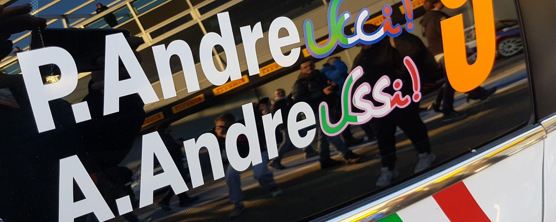 MonzaRallyShow: Andreucci e la sua Peugeot segnano una doppietta