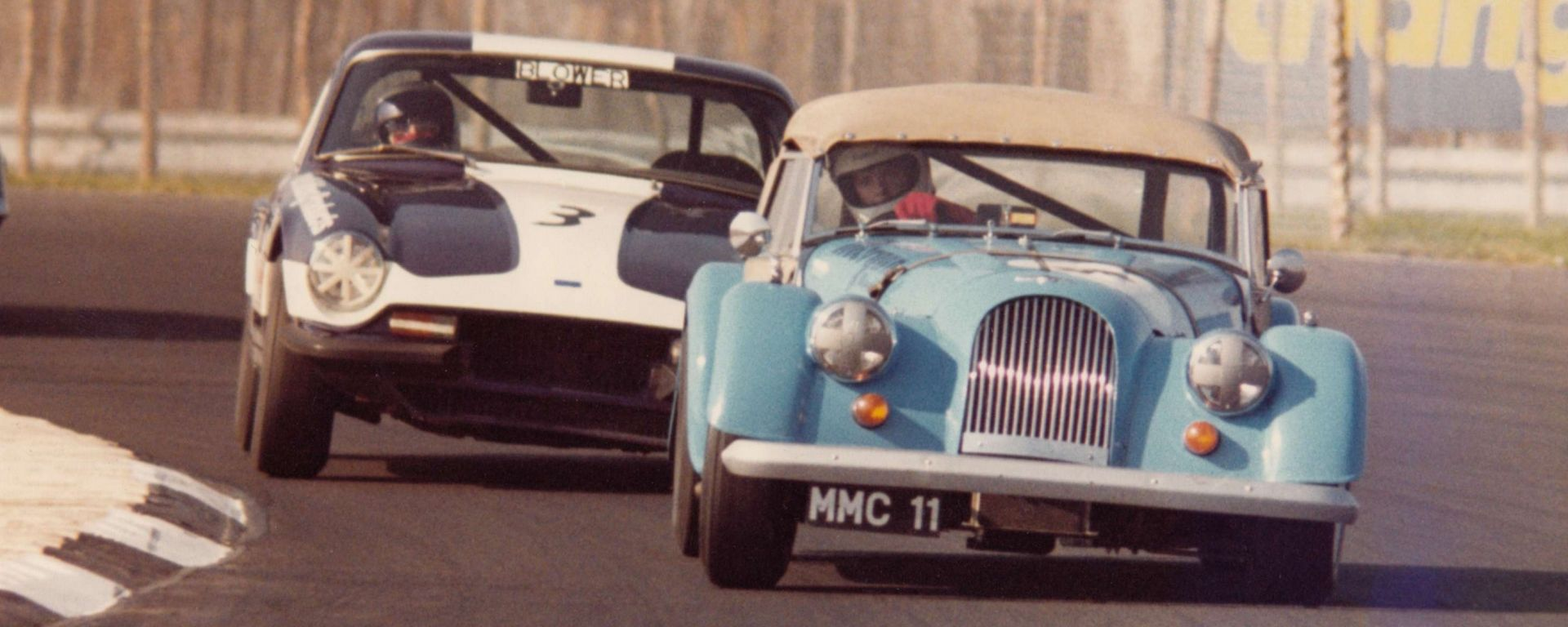 Morgan Plus 8 50th Anniversary: una special nata sulla pista