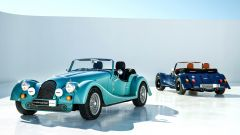 Morgan Plus Four  frontale e posteriore