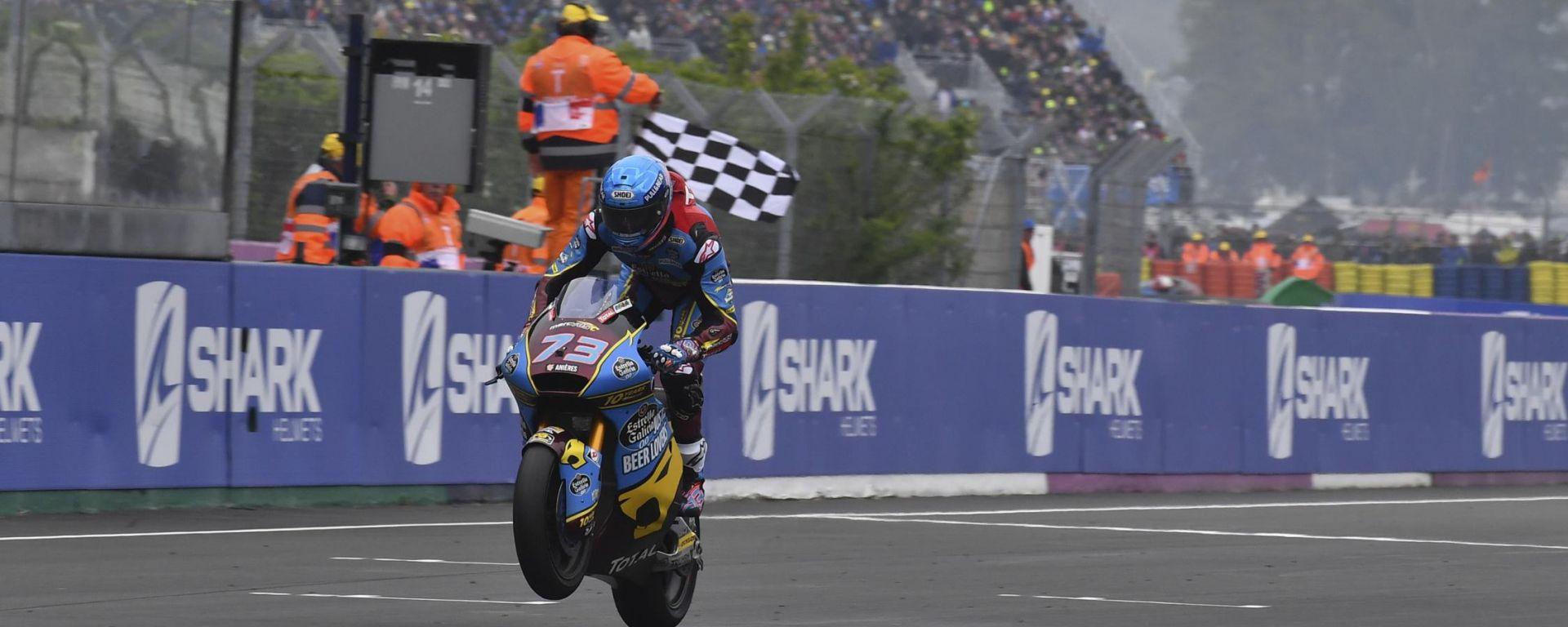 Moto2, Alex Marquez è il terzo vincitore sulla Triumph