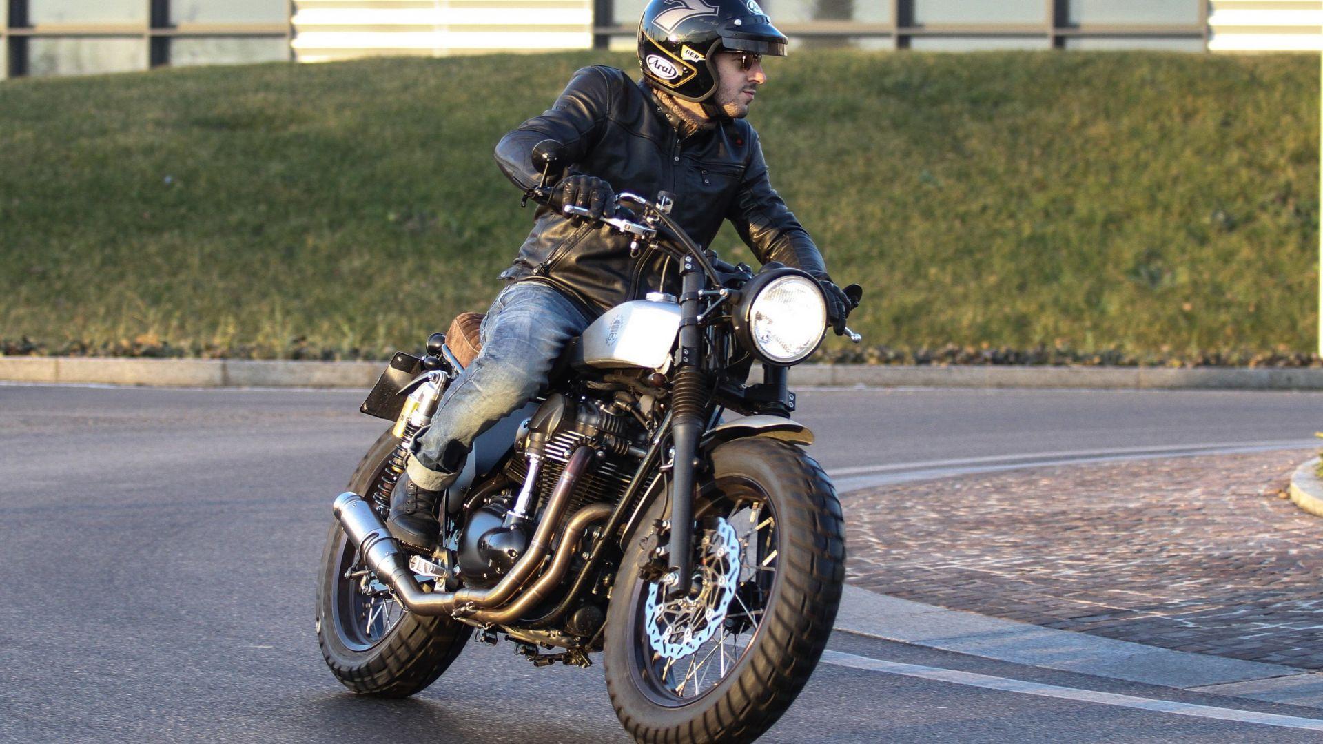 Test Drive Moto Di Ferro Scrambler Motorbox