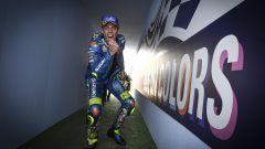 Moto, GP San Marino 2020: Joan Mir (Suzuki) festeggia il terzo posto