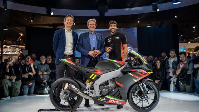 La RS 250 GP del Campionato Aprilia Sport Production