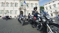 Moto Guzzi California 1400 consegnate ai Corazzieri