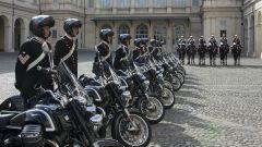 Moto Guzzi: consegnate al Reggimento Corazzieri le California 1400 - Immagine: 1
