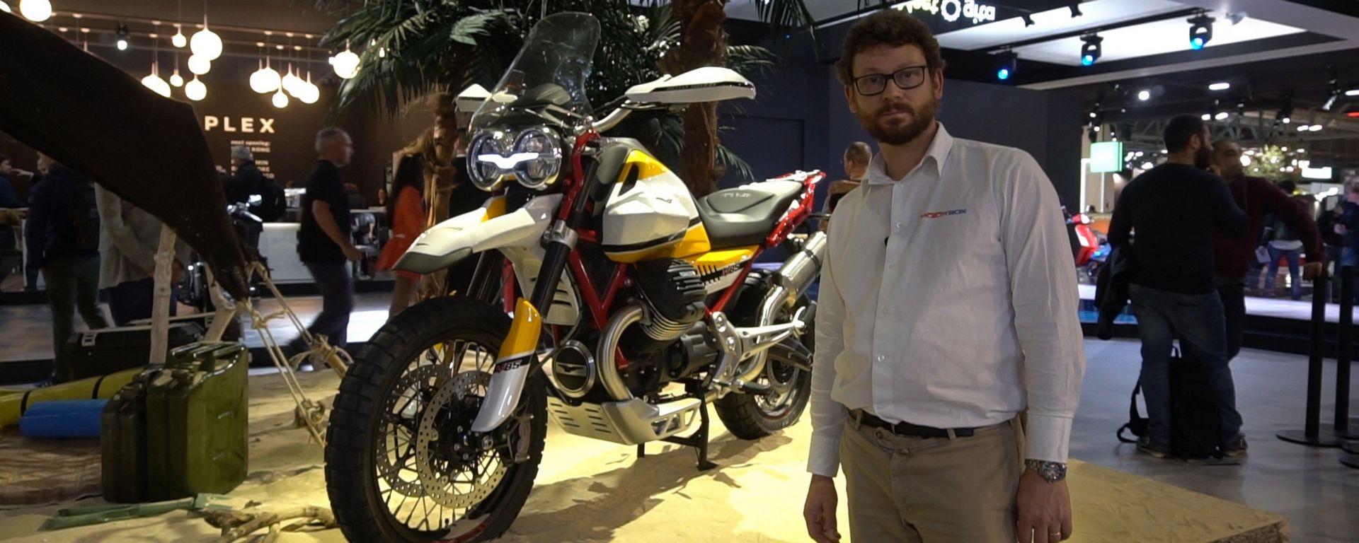 Moto Guzzi Concept V85: in arrivo una nuova famiglia di moto [VIDEO]