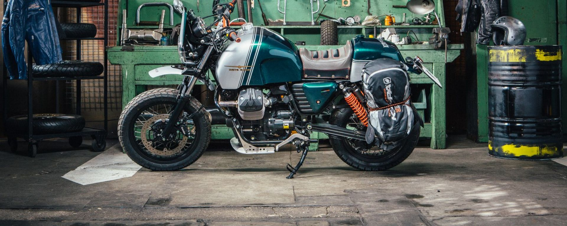 Moto Guzzi Erpico e Hunter, le prime creazioni di Lord of the Bikes