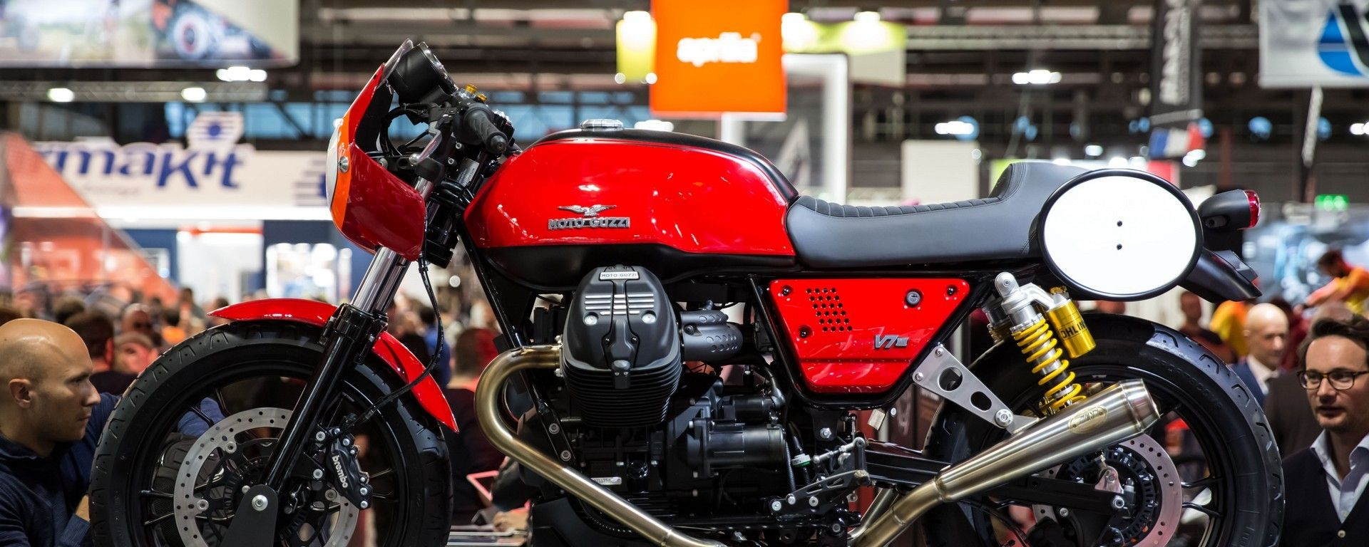 Moto Guzzi Fast Endurance: la protagonista sarà la V7