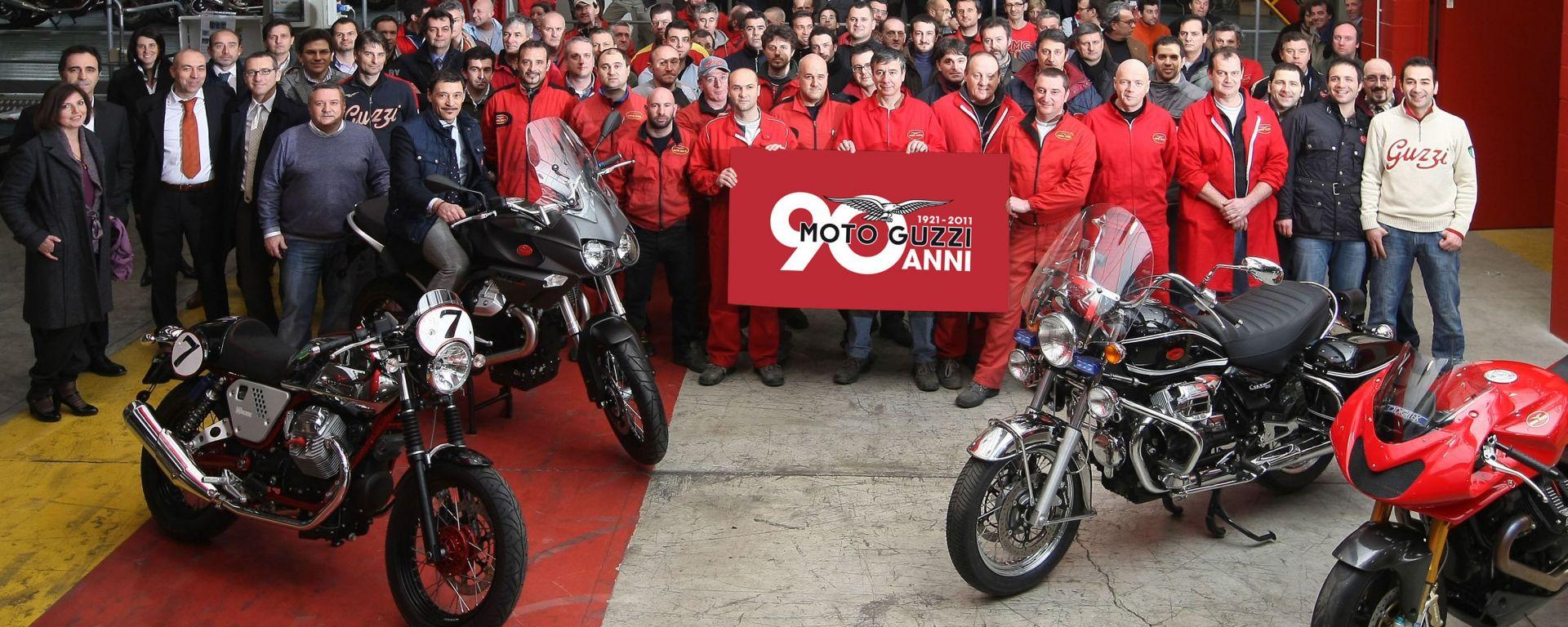 Moto Guzzi festeggia 90 anni