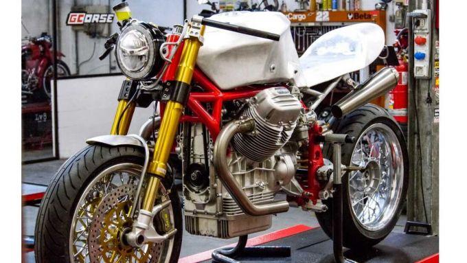Moto Guzzi Le Mans 850 diventa GCorse Classic 992 con i fratelli Guareschi