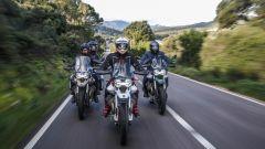 Moto Guzzi: le V85 TT insieme
