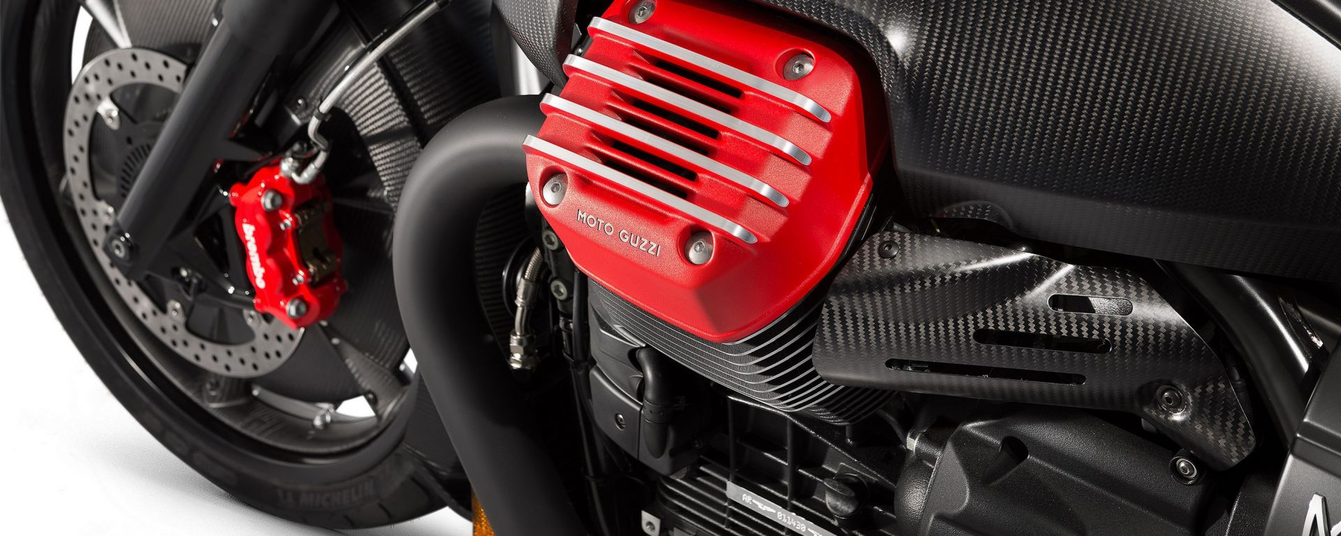 Moto Guzzi MGX-21, il motore