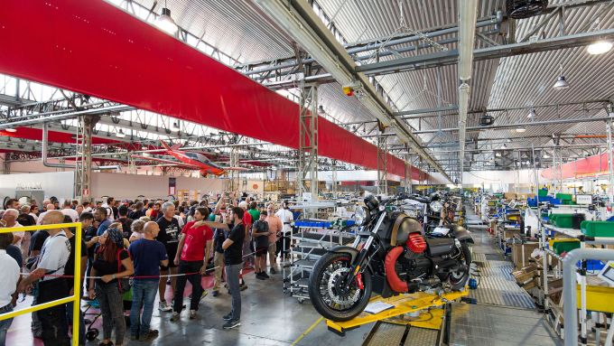 Moto Guzzi: la visita al museo
