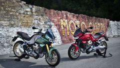 Moto Guzzi V100: le foto ufficiali, dal vivo ad EICMA 2021