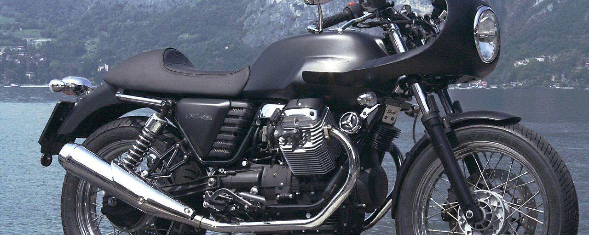 special moto guzzi v7 caf racer motorbox. Black Bedroom Furniture Sets. Home Design Ideas