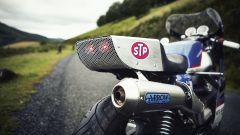 Moto Guzzi V7 Endurance by 4h10, il codino in alluminio
