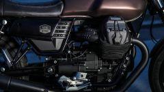 Moto Guzzi V7 III Black Pack, dettaglio della meccanica
