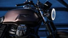 Moto Guzzi V7 III Black Pack,  il serbatoio