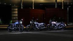 Moto Guzzi V7 III Black Pack, le tre colorazioni