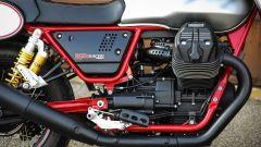 Moto Guzzi V7 III Racer: il motore