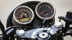 Moto Guzzi V7 III Racer: il quadro strumenti