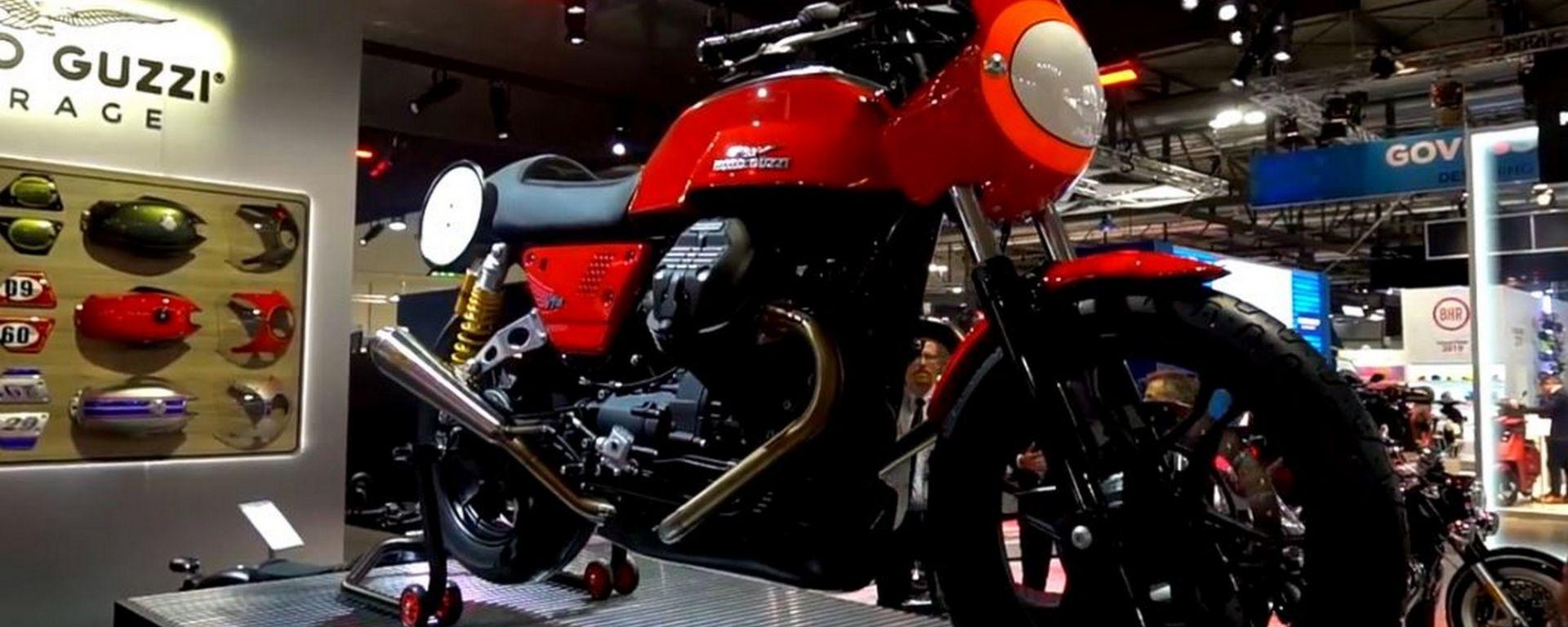 Moto Guzzi V7 III Stone, Eicma 2018
