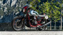 Moto Guzzi V7 Racer 10° Anniversario: 3/4 anteriore