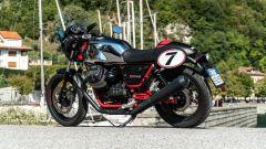 Moto Guzzi V7 Racer 10° Anniversario: 3/4 posteriore