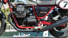 Moto Guzzi V7 Racer 10° Anniversario: il motore bicilindrico a V trasversale