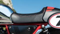 Moto Guzzi V7 Racer 10° Anniversario: la sella