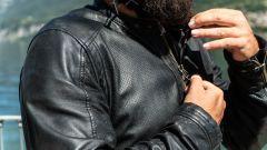 Moto Guzzi V7 Racer 10° Anniversario: l'abbigliamento, giacca Tucano Urbano Tom