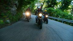 Moto Guzzi V7, Triumph Street Twin e Royal Enfield Interceptor testa a testa