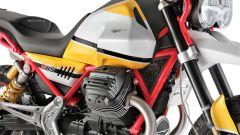 Moto Guzzi V85: dettaglio del motore
