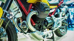 Moto Guzzi V85: dettaglio del nuovo motore