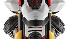 Moto Guzzi V85: dettaglio del parafango alto