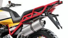 Moto Guzzi V85: la sella è comoda per due