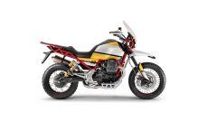 Moto Guzzi V85: lato destro
