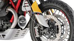 Moto Guzzi V85: l'avantreno